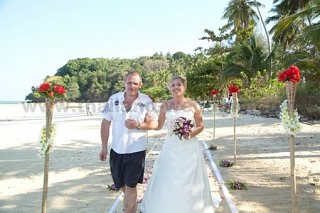 Phi Phi Beach Wedding Package Gallery Jenny Dominic